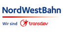 Logo NordWestBahn GmbH in Hannover